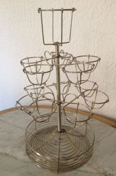 Vintage French egg tree. Would be beautiful for displaying at Easter or any time of year our eggs.