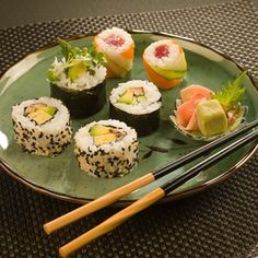 try sushi