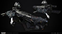 ArtStation - Black Ops 3: NX ShadowClaw, Ethan Hiley