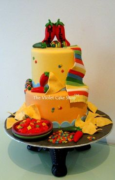 mexico themed wedding cake mexican themed cakes search cake design ideas 17327