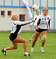 Fistball is listed (or ranked) 87 on the list Female Sports with the Hottest Athletes Sports Women, Female Sports, Female Athletes, Soccer, Running, Lady, Hot, Crocodiles, Free