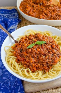 Make up a pot of this delicious and healthy Syn Free Vegan Lentil Bolognese for dinner, with plenty leftover for freezing.
