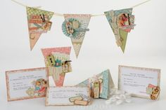 Adorable #DIY decorations for a baby shower