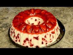Jello Cake, Jello Desserts, Easy Desserts, Delicious Desserts, Yummy Food, Pudding Desserts, Gelatin Recipes, Jello Recipes, Dessert Recipes