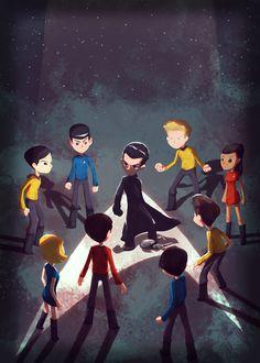 Final Frontier - Star Trek Tribute Show by Geek-Art, Paris June 3, 2013 - Imgur