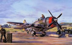 Some mighty fine P-47 Thunderbolt artwork. beautifulwarbirds@gmail.com Twitter: @thomasguettler Beautiful Warbirds Full Afterburner The Test Pilots P-38 Lightning Nasa History Science Fiction...