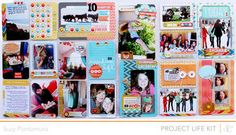 Project Life Week 10 by suzyplant at Studio Calico