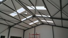 In South Africa the bulk of retail and industrial buildings are fashioned from steel-sheet clad frames, where 70% of the heat gain is through the roof. The most cost effective way to insulate these buildings is to install IsoBoard above the purlins, just beneath the roof sheeting.  #isoboard #thermalinsulation #factory #construction #building #buildingmaterials #commercialproperty #commercialdevelopements #retail #retailbuildings #steel #roof #ceilings #overpurlin