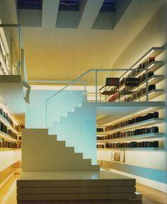 La biblioteca actualizada en una casa londinense del siglo 17, diseñado por Timothy Hatton