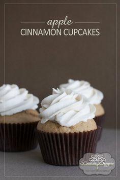 Apple Cinnamon Cupcakes « The Best Cupcake Recipes