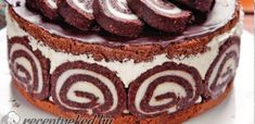 Érdekel a receptje? Hungarian Desserts, Hungarian Cake, Hungarian Recipes, Pasta Cake, Torte Cake, Rainbow Food, Sweets Cake, Sweet And Salty, No Bake Desserts