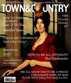 Inspired by the #RegencyCosmo issue in turn a reaction to the #RegencyMensFitness hashtag on twitter, Nicola Andrews and Lia Matera offer up a Regency version of Town & Country! Brava, ladies!