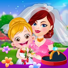 Baby Hazel Flower Help To Be A Perfect On Her Aunt S Wedding Day Android Casual Apk By