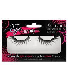 Glamour Stunning Eye Candy Daphne Dramatic Winged Lashes - Black Sexy Charming #Xgen