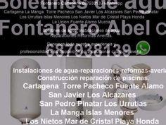 BOLETINES DE AGUA CARTAGENA 687938139 uy Yucatán iimu FONTANERO SAN JAVIER CARTAGENA SAN PEDRO DEL PINATAR LA MANGA - YouTube