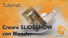 Creare delle slideshow con Blender