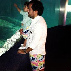 Vilebrequin at the Aquarium