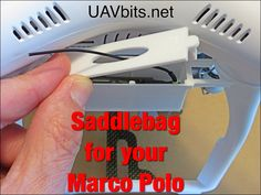 Saddlebag for your #MarcoPolo #UAV #DJI #P3 #Phantom3 from uavbits.net Free Shipping in the USA