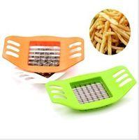 Горячая продажа нержавеющей стали Cutter Potato Chip Растительные Slicer Инструменты Бесплатная доставка падение корабля # H0154