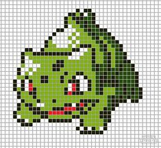 Pokemon from the game Pokemon yellow. Placed in grid format to make it easier for pixel-arters to create on minecraft, in hama form, cross-stitch or oth. Seed Bead Patterns, Beading Patterns, Cross Stitch Patterns, Pokemon Perler Beads, Hama Beads, Pokemon Chart, Pixel Art Grid, Pokemon Pokedex, Pixel Pattern