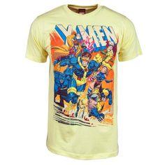 Marvel - Hombre x-men cover camiseta amarillo xxl #camiseta #realidadaumentada #ideas #regalo