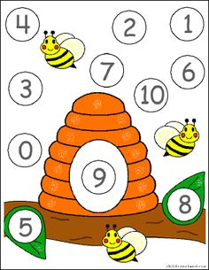 early learning collection 1 for preschool and kindergarten Child Care, Letters And Numbers, Early Learning, Bees, Alphabet, Kindergarten, How To Draw Hands, Preschool, Printables