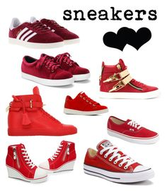 """Sneakers love 7"" by dtlpinn on Polyvore featuring adidas, Vans, Giuseppe Zanotti, Converse, BUSCEMI, ALDO and Brika"