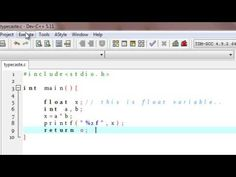 C programming tutorial typecast integer value converted float value