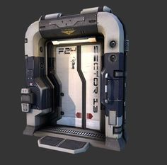 Sci-fi door based on Q4 concept - Page 2 - Polycount Forum: