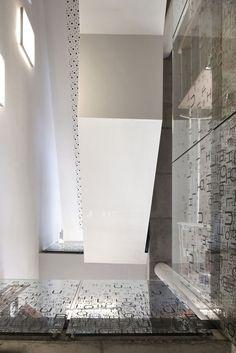 La bibliothèque Bruegel © Serge Brison www.roose.be #architecture #projet