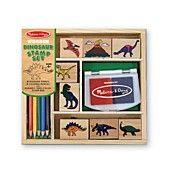 Melissa and Doug Toy, Dinosaur Stamp Set
