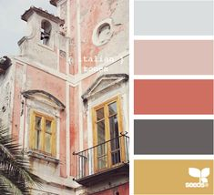 colour, color palettes, design seeds, italian color palette, color schemes