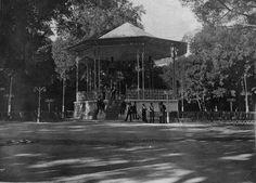 Kiosco de Música en el Parque del Retiro, sobre 1910. Autor desconocido.