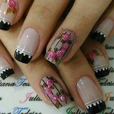 Gorgeous Nails, Love Nails, Pretty Nails, Colorful Nail Designs, Nail Art Designs, Nail Studio, Cool Nail Art, French Nails, Manicure And Pedicure