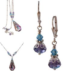 A personal favorite from my Etsy shop https://www.etsy.com/listing/262282234/swarovski-filigree-vitrail-light-pendant