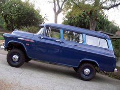 57 Chevy Suburban w/NAPCO 4x4 conversion
