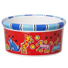 Signature Housewares Run Spot Run Dog Bowl >>> Learn more by visiting the image link.