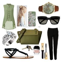 Eddie by harley-quinn13 on Polyvore featuring polyvore fashion style Dolce&Gabbana Sole Society Olivia Pratt Yves Saint Laurent Marc Jacobs clothing