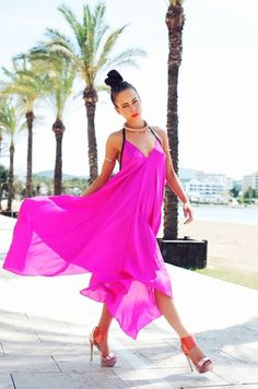 Coco Riko offers a high-end and sophisticated range of beach and resortwear. Stunning prints and beautiful brights are combined together to create the essen. Cool Summer Outfits, Pink Silk, Resort Wear, Beachwear, Swimwear, Lounge Wear, Cover Up, Stylish, Beautiful