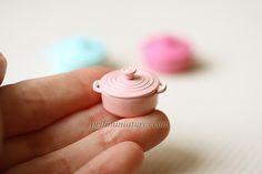 Dollhouse Miniatures, Miniature Food Jewelry, Craft Classes: Dollhouse Miniature Cooking Pots