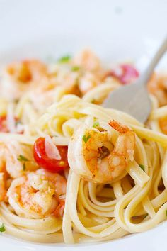 Shrimp+Scampi+Linguine