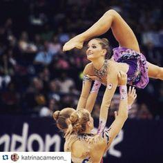 Look for #YorkU's Katrina Cameron as she represents #TeamCanada in rhythmic gymnastics. Best of luck, Katrina ☺️!