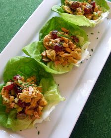 Curried Lettuce Wraps