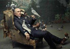 John Malkovich by Annie Liebovitz