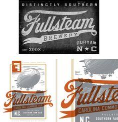 Fullsteam Brewery #branding #logo
