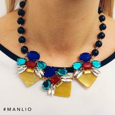 Collana €116,60 Spedizione gratuita  #manlioboutique Info: WhatsApp 329.0010906 #bijoux #necklace #accessories