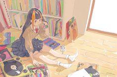 ION AUDIO / Archive LPNumark Japan Corporation:イメージイラスト  http://ionaudio.jp/archivelp/