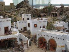paesaggio arabo Miniature Houses, Sweet Home, Miniatures, Christmas, Models, Around The Worlds, Nativity Scenes, Ornaments, Xmas