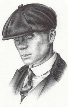 tommy shelby sketch