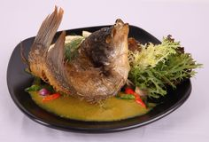 Pesmol Ikan Gurame  Pesmol flying carp - Indonesian cuisine